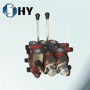China Dl20 2 Spool Hydraulic Pump Control Valve Manual For