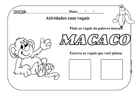 Atividades Para Educacao Infantil 5 Anos Portugues 2
