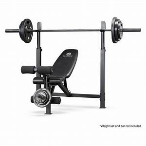 Marcy Olympic Bench With Rack