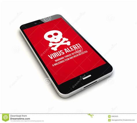 virus on smartphone smartphone virus render stock illustration image 59825625
