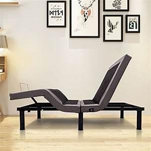 Giantex Adjustable Massage Bed Base Wireless Remote Usb