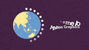 motion graphic earth - YouTube
