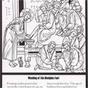 Holy Week Coloring Sheets – Adventures of an Orthodox Mom