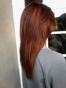 Meches Blondes Sur Chatain : couleur de base acajou cuivre avec meches blond miel hair en 2019 couleur cheveux court ~ Melissatoandfro.com Idées de Décoration