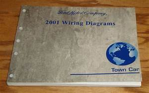 Original 2001 Lincoln Town Car Wiring Diagrams Manual 01