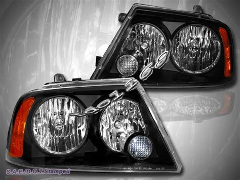 lincoln aviator led tail lights 2003 04 05 06 lincoln navigator headlights lamps black
