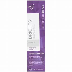 Ion Color Brilliance Semi Permanent Brights Hair Color Purple