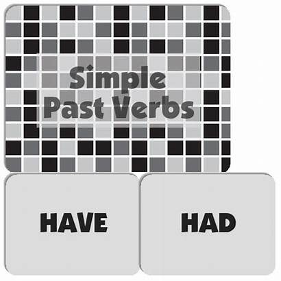 Past Simple Verbs Memory Match Spanish Ser