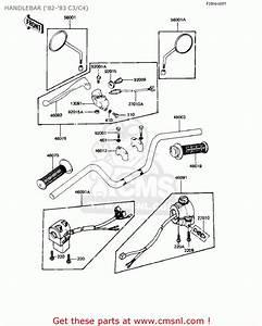 82 Kawasaki 550 Ltd Parts