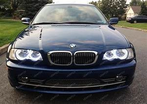 Bmw E46 Angel Eyes Halo Rings Led Or Ccfl Relay Harness W
