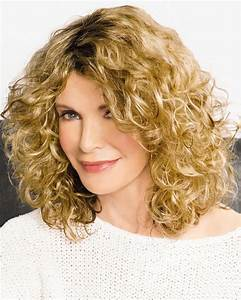 On Trend Curly Wigs With Shoulder Length Layers Of Airy