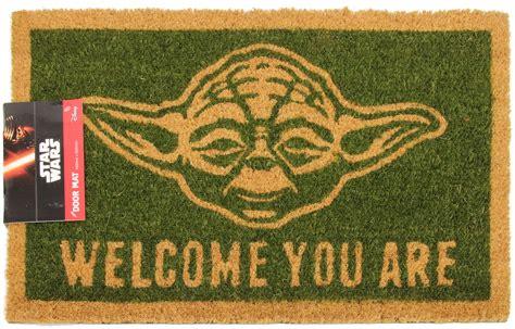 doormats nz wars yoda doormat at mighty ape nz