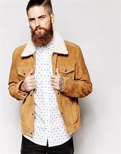 Veste En Daim Homme : asos veste western le blog mode de l 39 homme urbain ~ Nature-et-papiers.com Idées de Décoration
