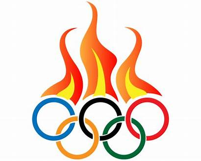 Olympic Clipart Symbol Fire Clipground