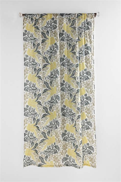 yellow white and gray curtains pin by white on to eat
