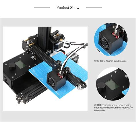 ender 2 3d printer creality 3d ender 2 mini printer imprimante 3d i3 diy kit