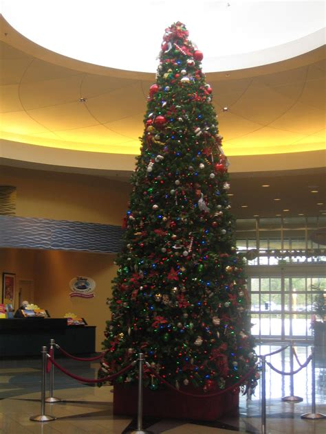 christmas decorations  disneys pop century resort