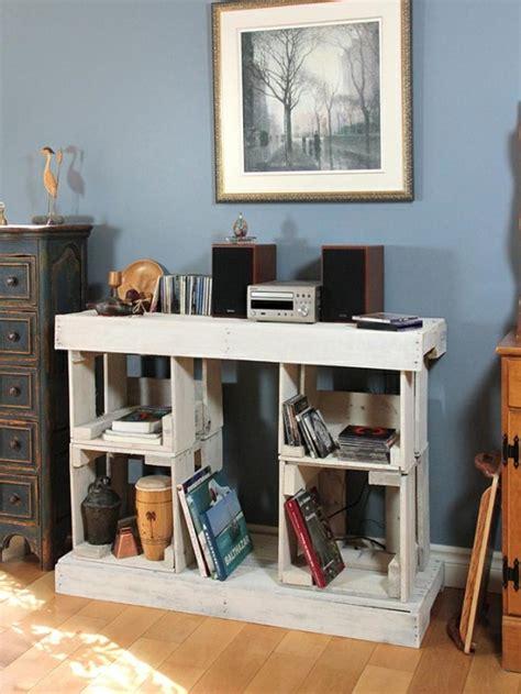 fabriquer bureau en palette les palettes de bois sont idales pour fabriquer du