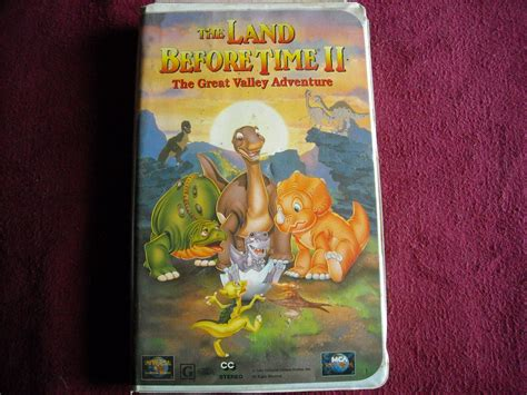 The Great Valley Adventure (vhs