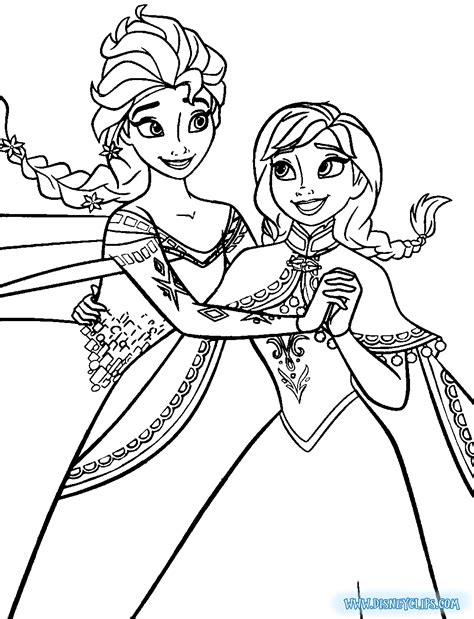 frozen elsa coloring pages  coloring pages frozen