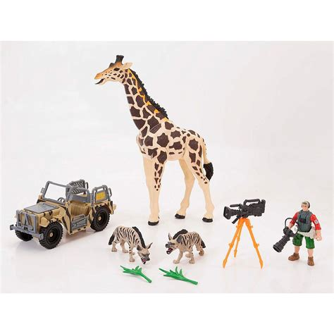 animal planet giraffe playset animal planet toys
