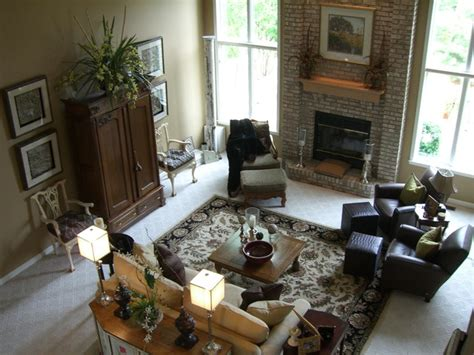 transitional great room traditional family room