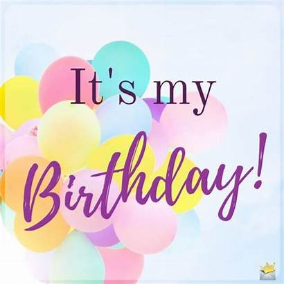 Birthday Happy Wishes Myself Its Pastel Balloons