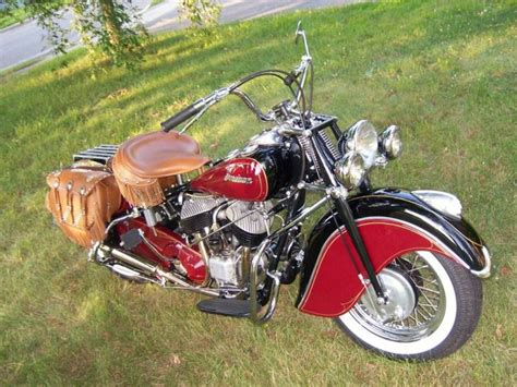 1947 Indian Chief Tribute Bike To The
