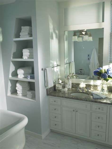 gray granite countertops transitional bathroom bcp
