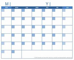 blank calendar design calendar With calendar template by vertex42 com
