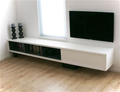 diy design  plans floating tv cabinet arturo xl