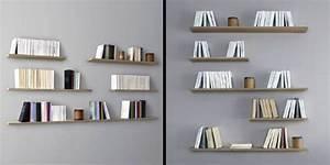 étagère Murale Bibliothèque : design de votre biblioth que murale la manufacture nouvelle ~ Teatrodelosmanantiales.com Idées de Décoration