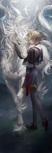 Prince and Unicorn - Remake by JaneMere on DeviantArt
