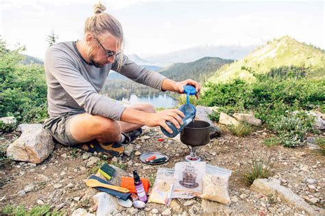 backpacking dinner ideas backcountry fried rice fresh off the grid