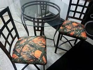Orange and camo chairs Home Decor Pinterest Camo