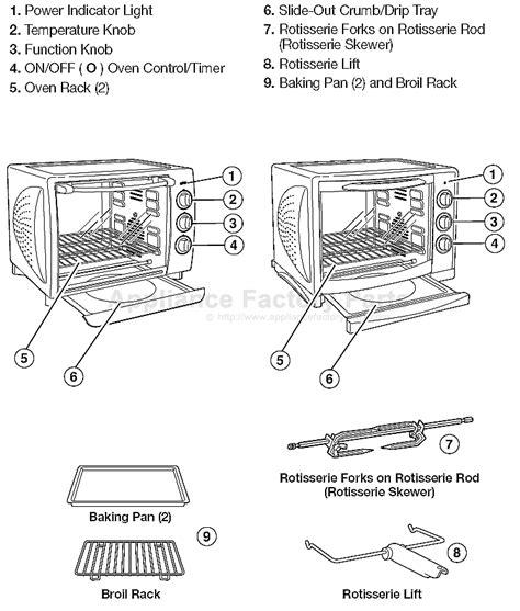 toaster oven parts hamilton 31197r parts small appliances