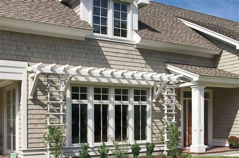 outdoor products brighten curb appeal window awnings garage doors casement windows