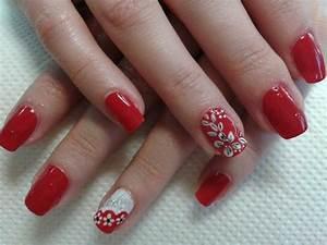 Deco Ongle Noel : deco ongle rouge et blanc ~ Melissatoandfro.com Idées de Décoration