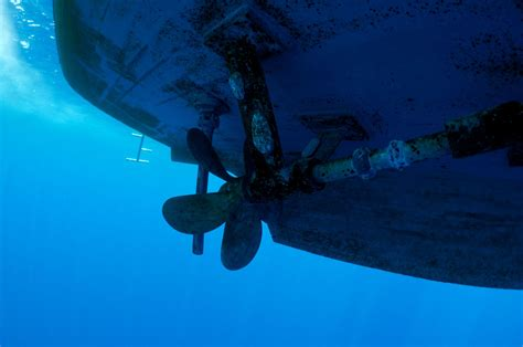 Boat Propeller Underwater by Dss Divers Zinc Anode And Propeller Service