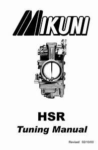 Mikuni Hsr 42 45 48 Carburetor Tuning