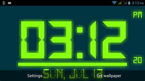 Digital Clock Wallpaper by Digital Clock Live Wallpaper Apk Free