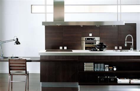 cuisine brun cuisine brun foncé photo 5 25 a noter la présence d 39 un