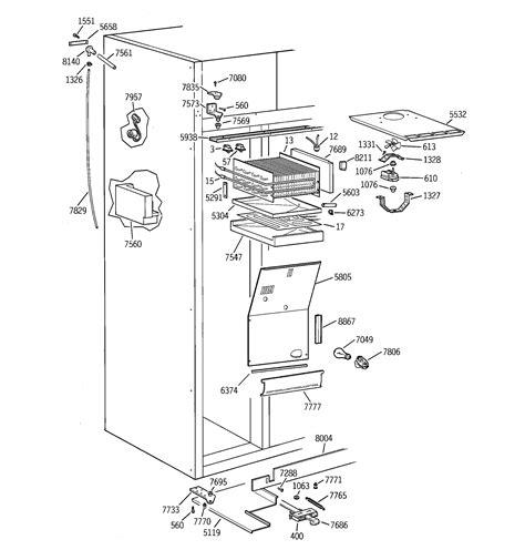 ge model zisnca side  side refrigerator genuine parts