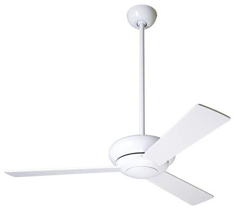 Modern White Ceiling Fans by 42 Quot Modern Fan Altus Gloss White Modern Ceiling Fan