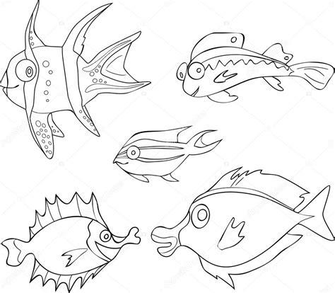 immagini di pesci da colorare e ritagliare ispirazione disegni da colorare pesci e mare