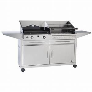 Barbecue Gaz Et Charbon : forge adour duo grill charbon et plancha gaz duo 600 ~ Dailycaller-alerts.com Idées de Décoration
