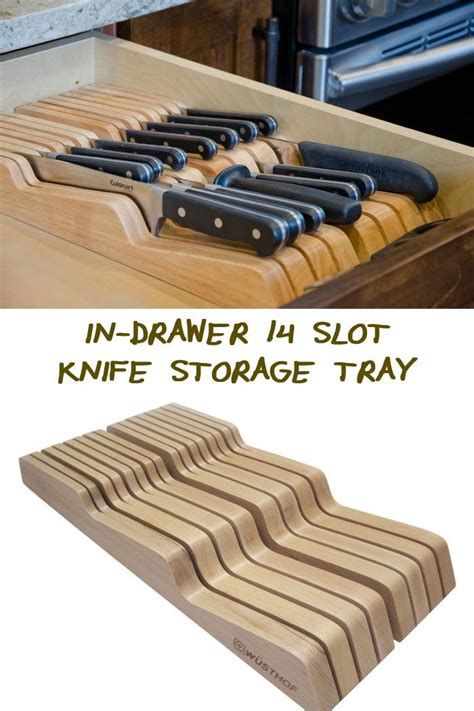 Kitchen Knives Storage by Do You Need A Better Knife Storage System This In Drawer