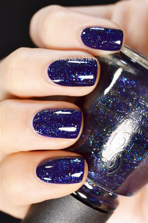 swatch  china glaze meteor shower honeymunchkin