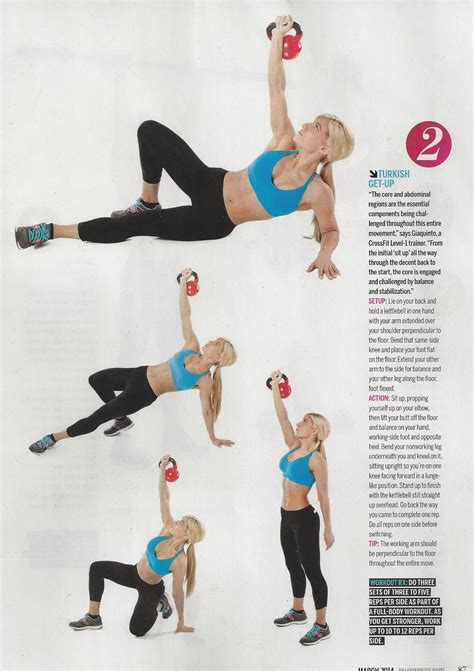 kettlebell magazine turkish oxygen training strength weight ups