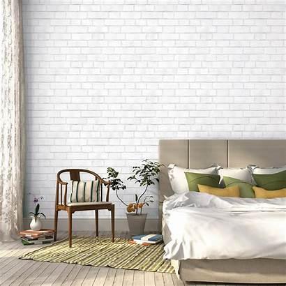 Adhesive Self Textured Brick Tempaper